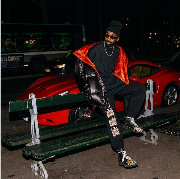 Pics! Riky Rick Hangs Out With Lewis Hamilton In Paris