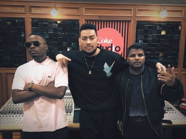 Watch AKA & Olamide Perform With Beca At Coke Studios