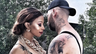 Photo of Chad Da Don Defends Kelly Khumalo From A Troll With A Massive Clapback