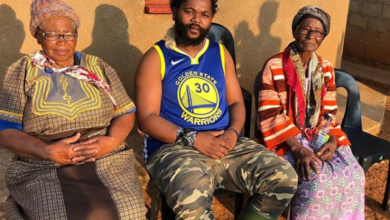 Photo of Watch! Sjava Shares A Heartwarming Video Of His Mother Singing A Song He Made For Her