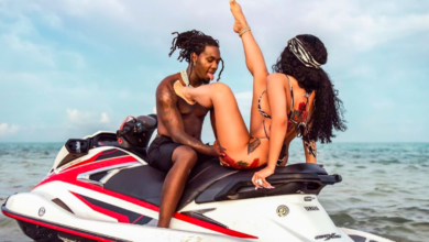 Photo of Cardi B shares the craziest reason why she got Offset's name tattooed on her knee