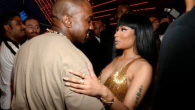 Photo of Nicki Minaj Reacts To Kanye's Decision Of Transforming Their Song To A Gospel One