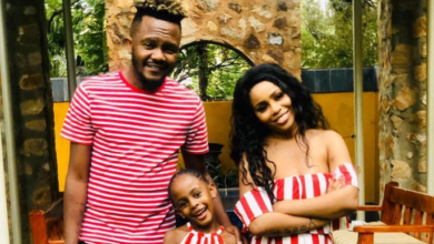 Photo of Kwesta Sends A Gratifying Birthday Message To His Wife & Daughter