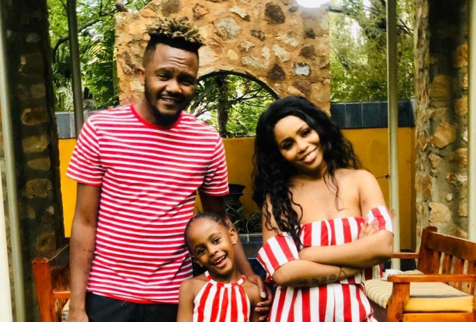 Kwesta Sends A Gratifying Birthday Message To His Wife & Daughter