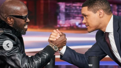 Photo of Kwesta & Cassper React To A Picture Of Black Coffee & Trevor Noah Arm Wrestling