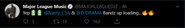 Major League DJz Announces New Nasty C & DJ Drama Feature 1