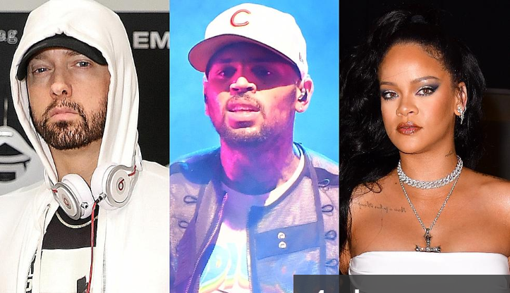 Eminem Sides With Chris Brown In The Rihanna Scandal