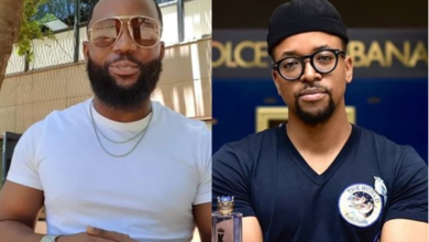 Photo of Fans Think Cassper Is Shooting His Shot At Maps Maponyane's Wife