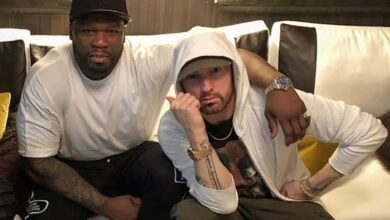"Photo of ""I oughta kick you in yo ass when I see you,"" Eminem & 50 Cents React To Nick Cannon's Diss Track"