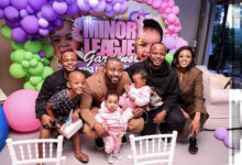 Photo of Pics: Reason & LootLove Celebrate Their Twins Star Studded Birthday In Style