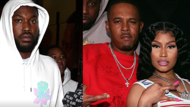 Photo of Watch! Meek Mill And Ex Nicki Minaj's Husband Get Into A Heated Argument
