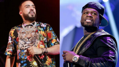 """Photo of French Montana Calls 50 Cents An """"Evil Donkey"""" As The Beef Gets Heated Up"""