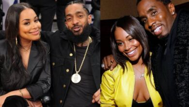 Photo of Nipsey Hussle's Girlfriend Lauren London Responds To A Rumour That She Is Dating P.Diddy