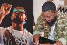 "Photo of ""You so obsessed with me"" – Cassper Fires Back At Prince Kaybee After He Ignites Beef"