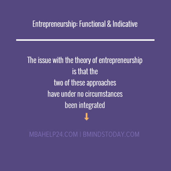 entrepreneurship-approaches