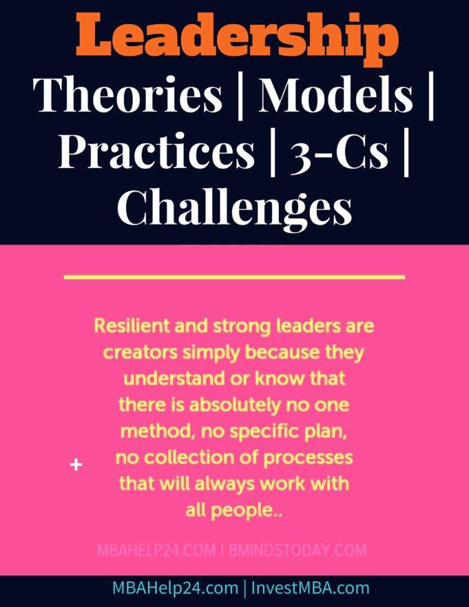 Leadership-management theories, models, processes, challenges and limitations