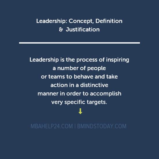 leadership-concept-definition leadership Leadership: Concept, Definition & Justification leadership concept definition