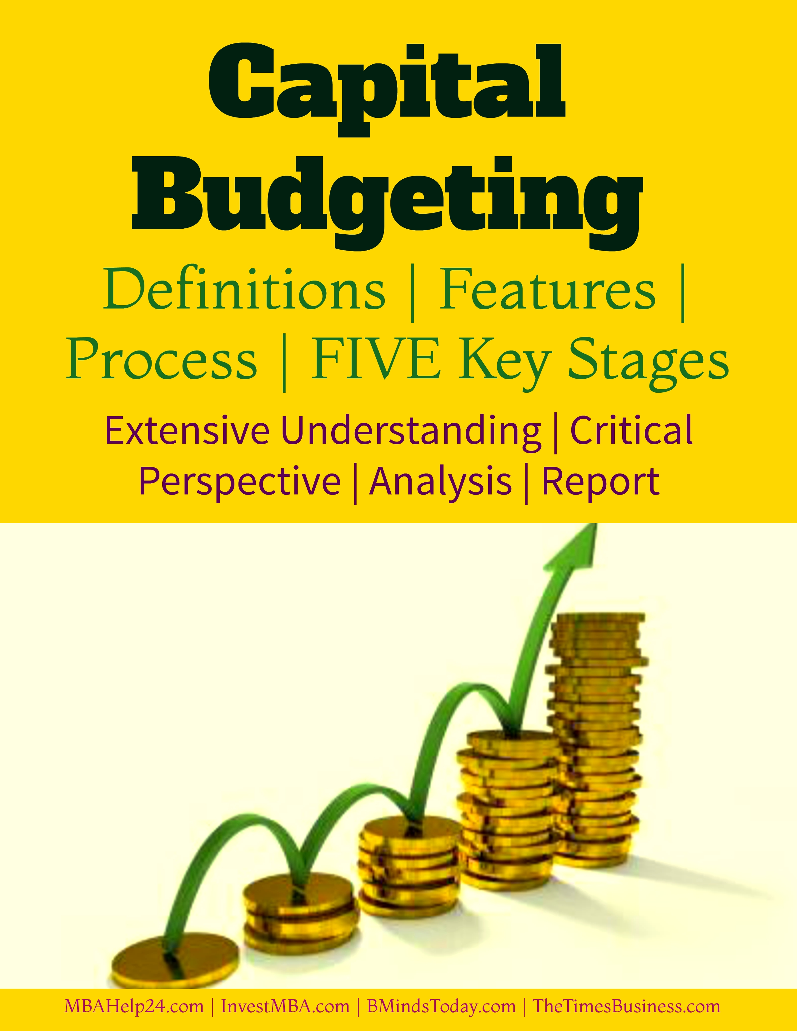 Capital budgeting- definitions, processes, stages and implications capital budgeting Capital Budgeting | Definitions | Features | Process | FIVE Stages Capital budgeting definitions processes stages and implications