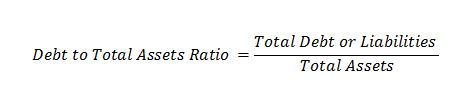 Debt to total assets ratio Debt Financial Leverage Ratios   Debt   Total Assets   Equity   Times Interest Earned Debt to total assets ratio