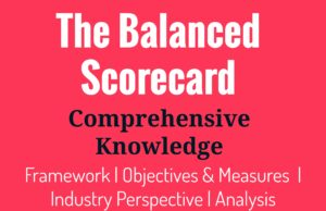 The balanced scorecard analysis and framework