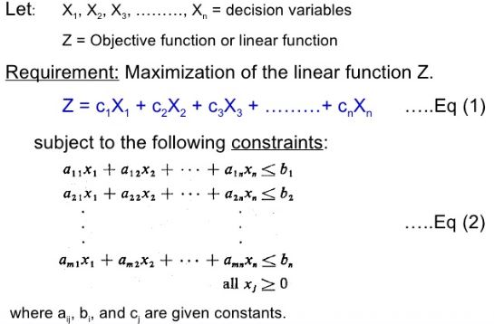 Linear programming structure and model Linear Programming Linear Programming | Checklist | Structure | Model | Assumptions | Applications Linear programming structure and model