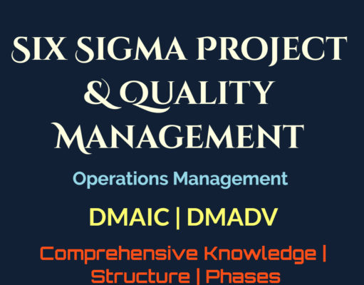 Six Sigma Project and Quality Management |DMAIC |DMADV | Structure | Phases