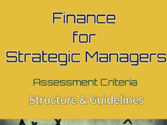 Finance for Strategic Managers | Assessment criteria | Assignment questions | Grading and marking format