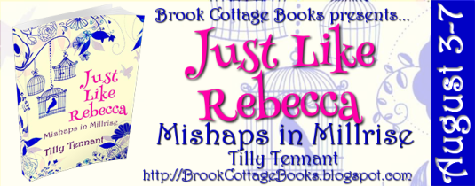 Just Like Rebecca Tour Banner