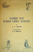 When we were very young by AA MIlne