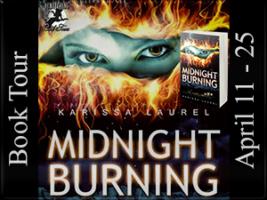 Midnight Burning - Blog Tour Poster