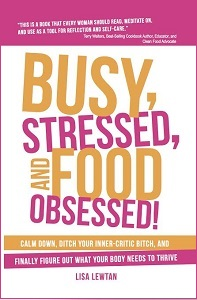 Busy Stressed and Food Obsessed by Lisa Lewtan