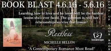 Restless by Michelle Bellon banner