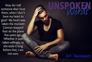Unspoken Words Poster 2