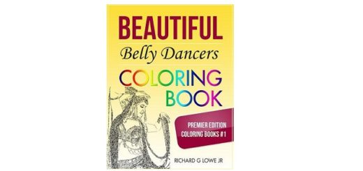 Feature Image - Beautiful Belly Dancers Colouring Book