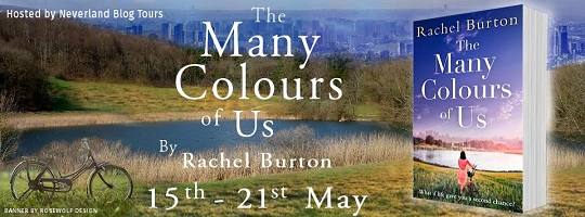 The Many Colours of Us by Rachel Burton tour poster