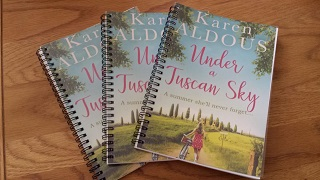 Under a Tuscan Sky giveaway