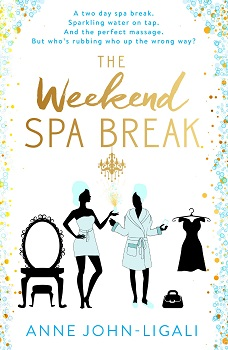 The Weekend Spa Break Cover reveal