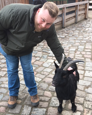 Mike-and-Derp-the-goat