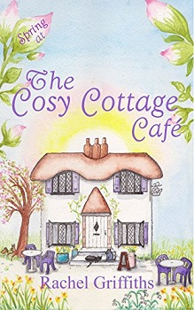 Spring at the Cosy Cottage Cafe by Rachel Griffiths
