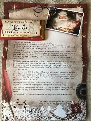 Santa Letter one