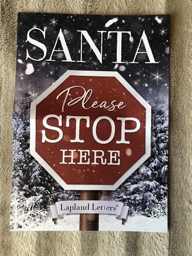 Santa Letter three