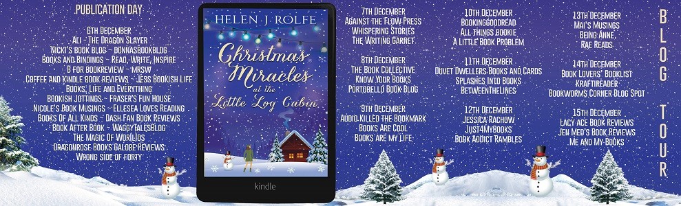 Christmas Miracles at the Little Log Cabin Full Tour Banner