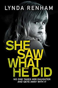 She Saw What He Did by Lynda Renham