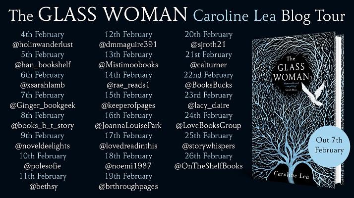 The Glass Woman Blog Tour Banner