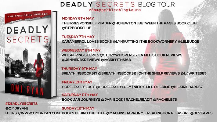 Deadly Secrets Blog Tour