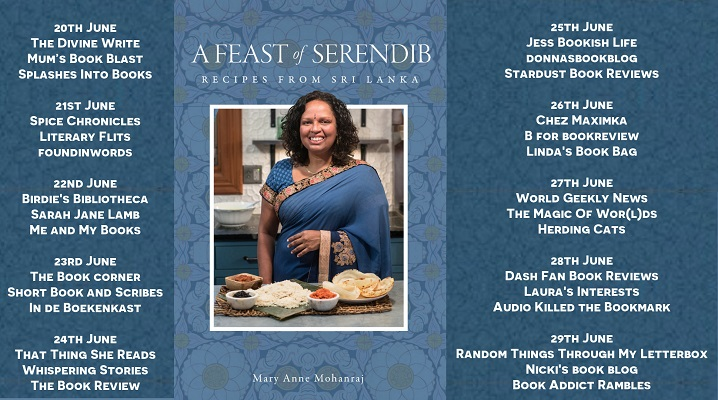 A Feast of Serendib Full Tour Banner