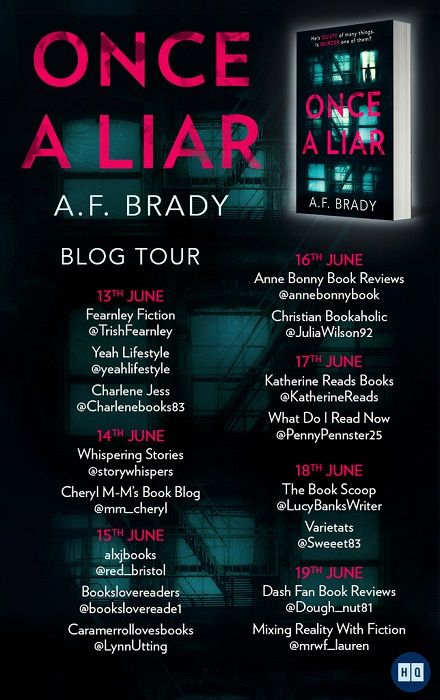 Once a Liar tour poster