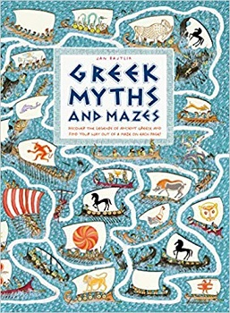 Greek Myths and Mazes by Jan Bajtlik