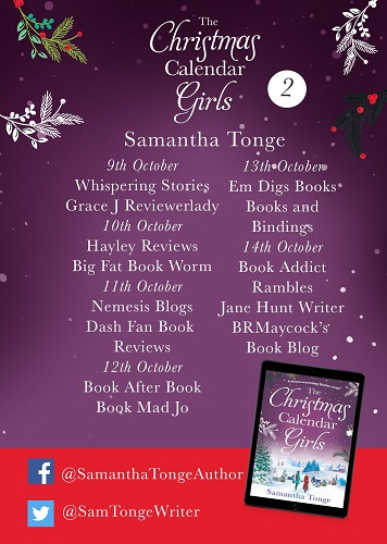 Christmas Calendar Girls Blog Tour Poster