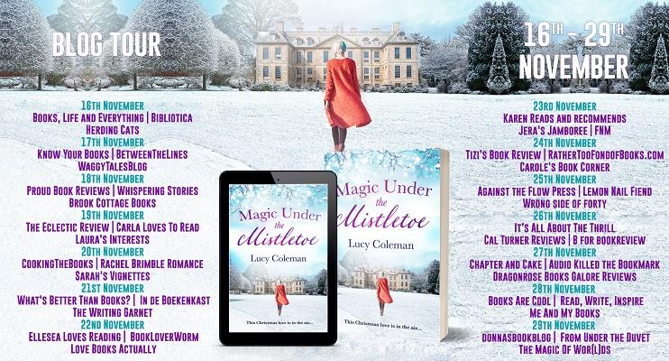 Magic Under The Mistletoe Full Tour Banner